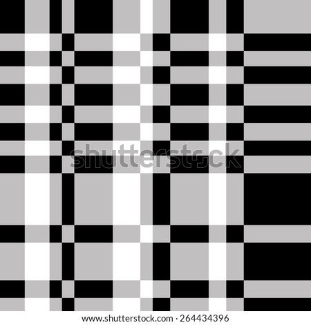 Seamless Checkered Background.  - stock vector