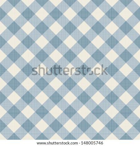 Seamless checkered background. Eps10 vector illustration - stock vector