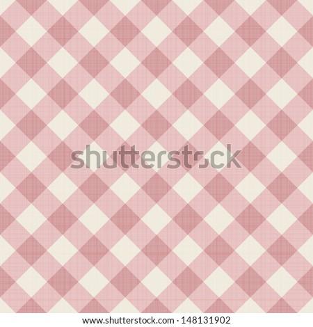 Seamless checkered background. Eps 10 vector illustration - stock vector