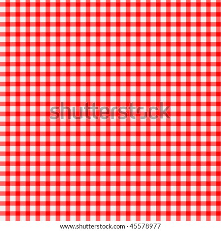 Seamless Checkered Pattern - stock vector