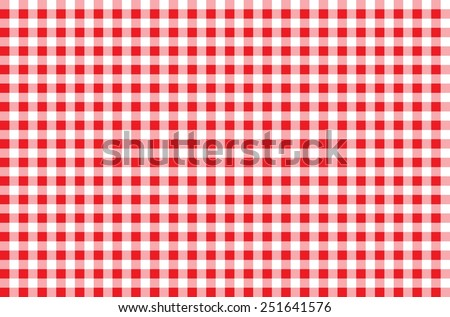 Seamless Checkered Pattern. red tartan, 10 eps - stock vector