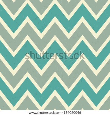 Seamless chevron pattern in elegant pastel colors. - stock vector