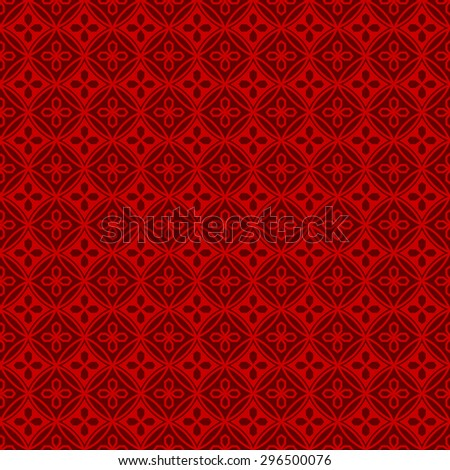 Seamless Chinese window tracery polygon round flower pattern background. Seamless background image of Chinese style window tracery polygon round flower pattern.