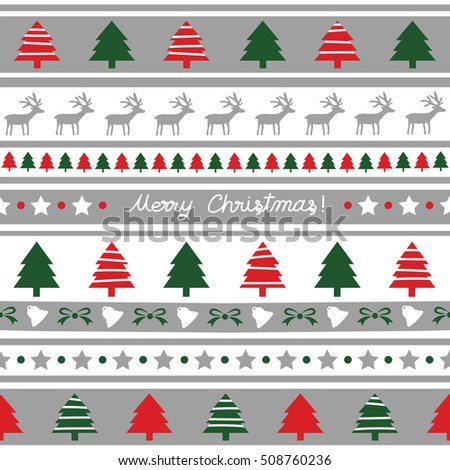 Seamless Christmas pattern for decoration.