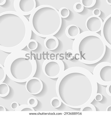 Seamless circles background. - stock vector