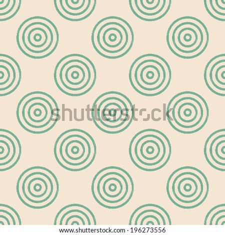 seamless circles pattern - stock vector