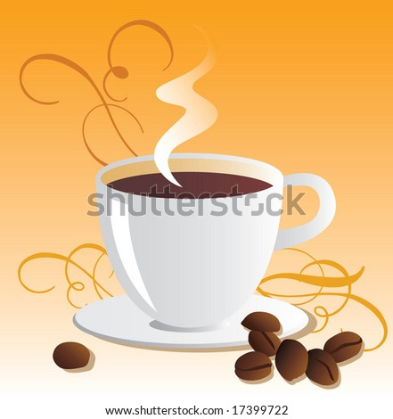 Seamless Coffee Menu Template, Background. Vector. For more illustrations VISIT MY GALLERY. - stock vector