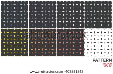 Seamless color geometric pattern.
