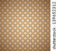 Seamless Colorful Retro Pattern Background, Vector Illustration EPS10, Contains Transparent Objects - stock vector