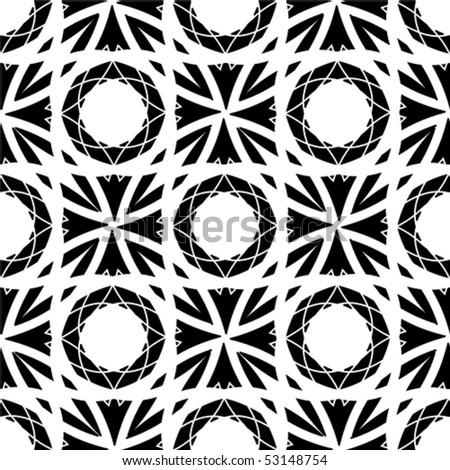 Seamless creative background. Vector. - stock vector
