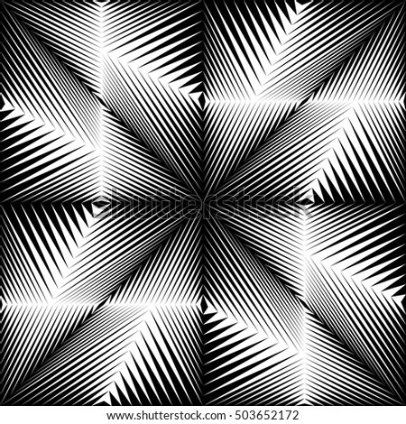 Group Of Optical Illusion Wallpaper Design