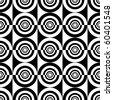 Seamless decorative design. Vector illustration. - stock vector
