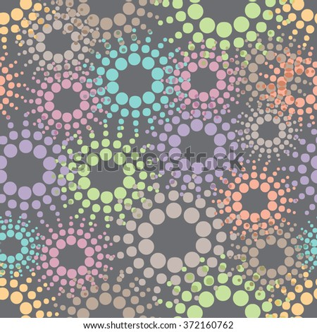Seamless Decorative Floral Pattern