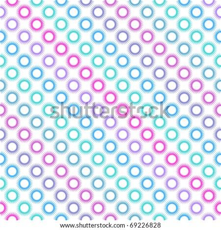 Seamless diagonal multicolor pattern. Vector illustration. - stock vector