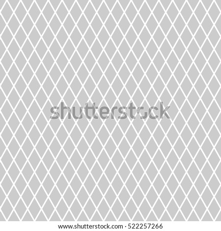 Seamless diamonds pattern. Geometric latticed texture. Vector art.