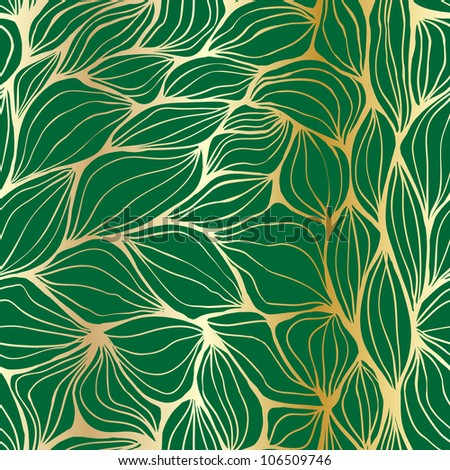 Seamless doodle abstract ripples pattern - stock vector