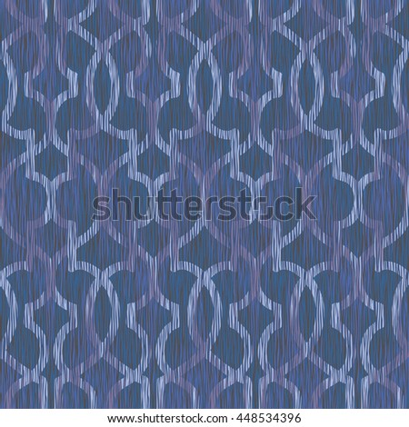 Seamless faux fabric pattern background tile