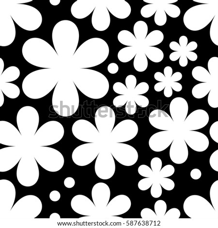 Seamless floral background. Print. Cloth design, wallpaper.