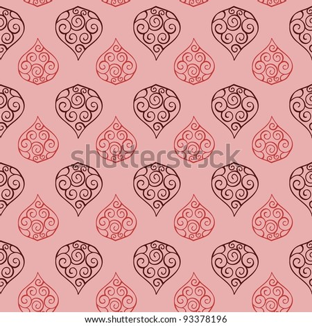Seamless Floral Pattern 03 - stock vector