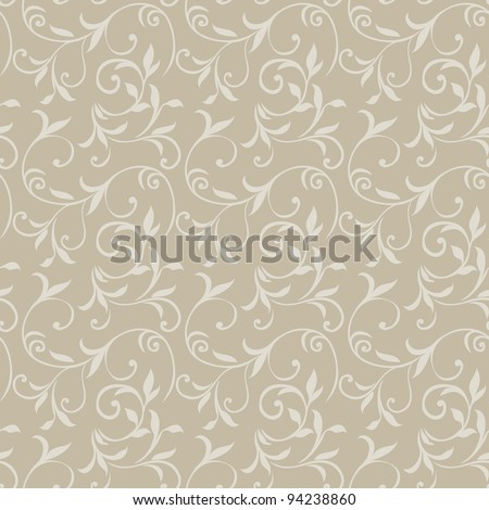 Seamless Floral Pattern 08 - stock vector