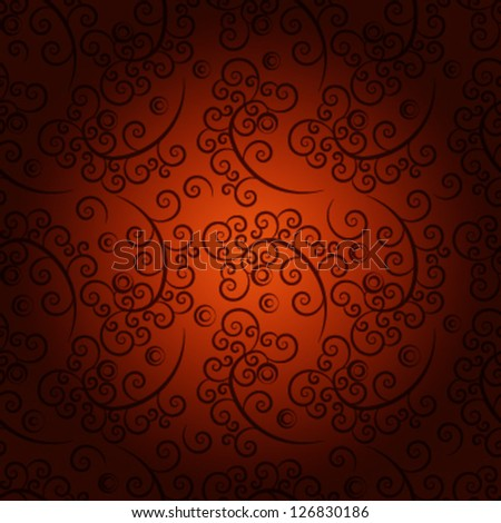 seamless floral pattern. eps 10 - stock vector