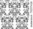 Seamless Floral Pattern. Illustration vector. - stock vector