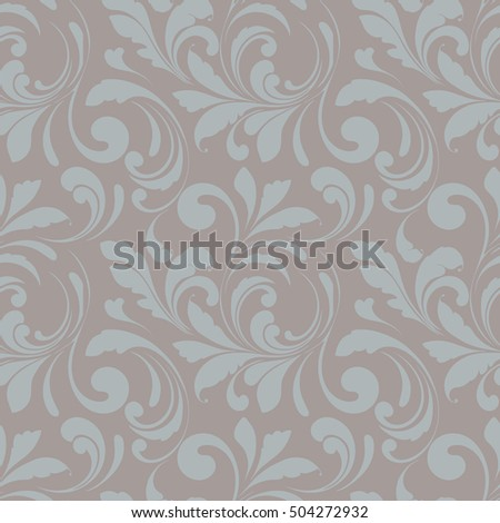 Seamless floral pattern. Linens and home decorations.