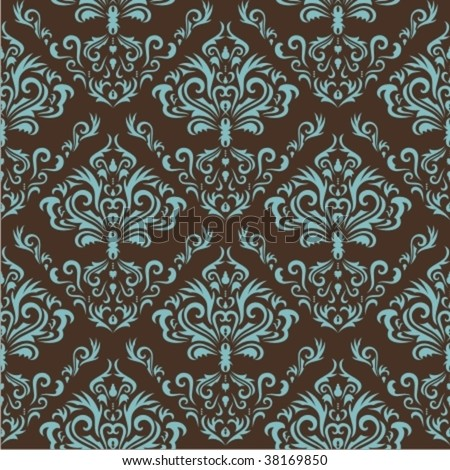 Seamless floral pattern. Nice to use as background. - stock vector