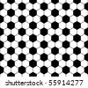 Seamless football pattern, vector - stock vector