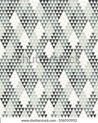 Seamless geometric background # 1 - stock vector