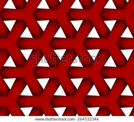 Просто интересно... - Страница 18 Stock-vector-seamless-geometric-background-pattern-with-realistic-shadow-and-cut-out-of-paper-effect-colored-d-264532346