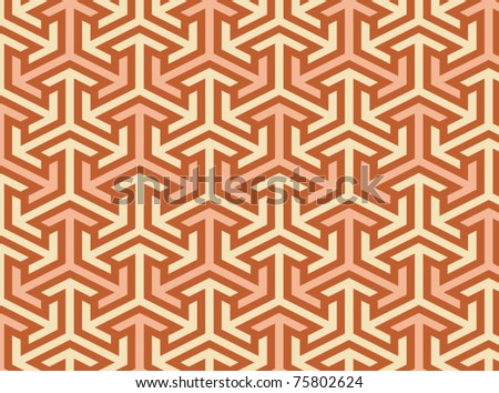 Seamless geometric black and white pattern. To see similar patterns,