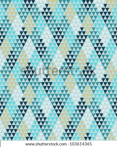 Seamless geometric pattern #2