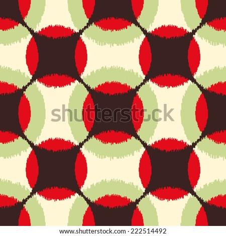 seamless geometric pattern - stock vector