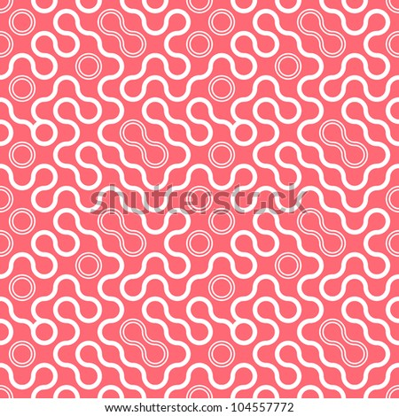 seamless geometric pattern. abstract background - stock vector