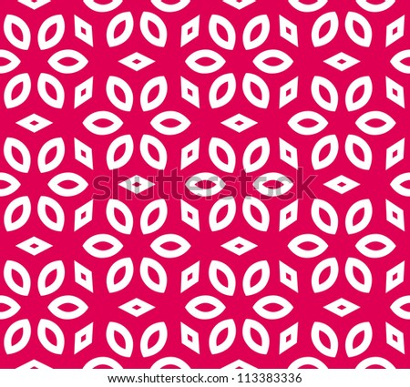 Seamless geometric pattern. Abstract vector background - stock vector