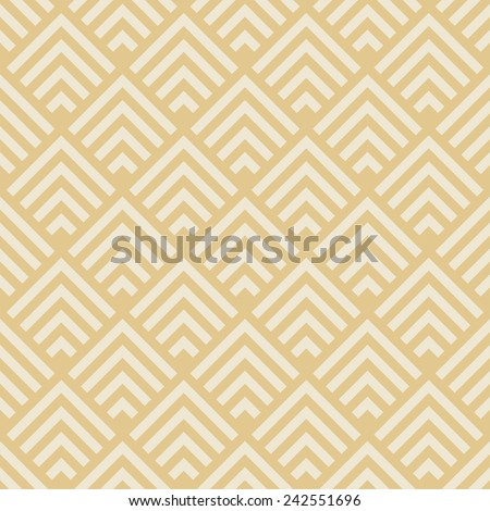 seamless geometric pattern. art deco monochrome texture - stock vector