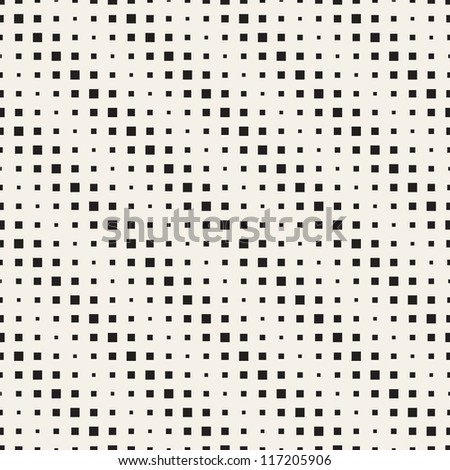 Seamless geometric pattern. Diagonal squares. Vector repeating texture - stock vector