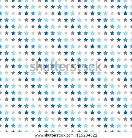 seamless geometric pattern. diagonal stars. vector repeating texture - stock vector