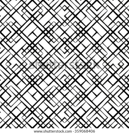 Monochrome Geometric Pattern Stock Images Royalty Free