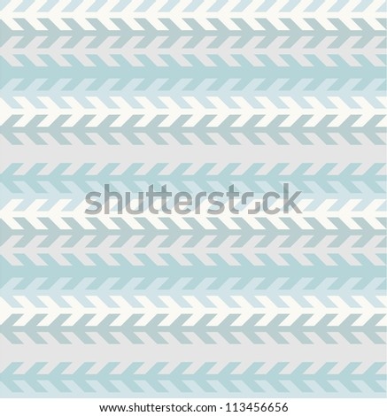 Seamless geometric pattern in cold tints - stock vector