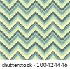 Seamless geometric pattern in ethnic style. More in my portfolio - stock photo