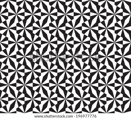 Seamless Geometric Pattern Texture Background - stock vector