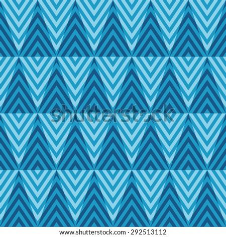 Seamless geometric pattern texture background - stock vector