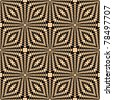 Seamless geometric pattern. Vector art. - stock photo