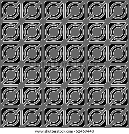 Seamless geometric pattern. Vector art. - stock vector