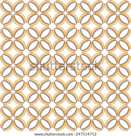Seamless geometric pattern ,vector background  - stock vector