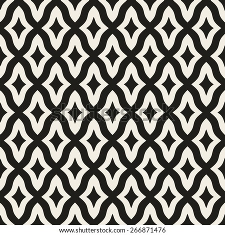 Seamless geometric pattern. Vector background - stock vector