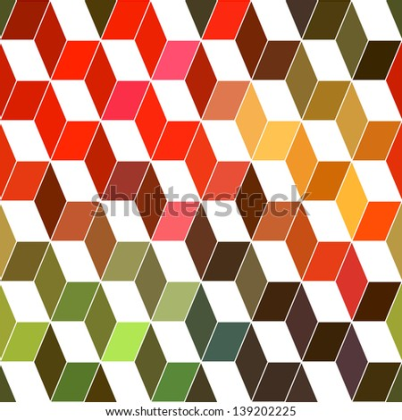 Worksheets Shape Design Patterns seamless geometric pattern shapes rhombus stock vector with colorful zigzags looks like stairs or