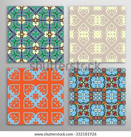 Moroccan ceramic tiles
